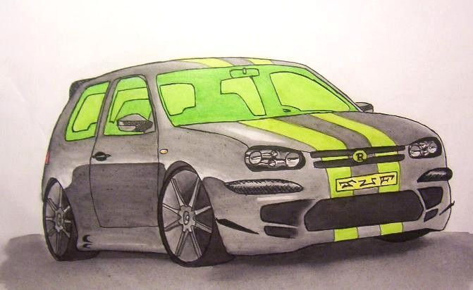 Dessins page 2 - Dessin voiture tuning ...